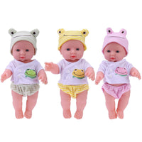 Newborn baby doll - yellow clothes