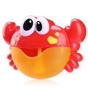 Crab bubble blower