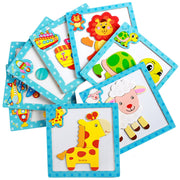 Magnetic puzzles - 4 pcs