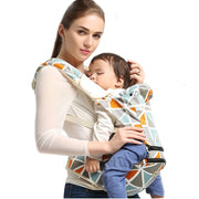 2 in 1 Cotton Baby Carrier For Newborns - Kangaroo