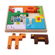 Animal - Vehicle - 3D Puzzles - 13 pieces