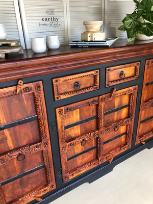 Earthy Home Style, hand painted, eco approved paint, Australian made paint, eco-conscious, sideboard