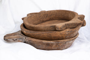 Earthy Home Style, Ethically Made Homewares, Handmade, eco-conscious, Indian Oversized Chapati Bowls