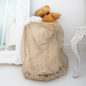 Earthy Home Style, Ethically Made Homewares, Handmade, eco-conscious, Jute Basket