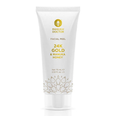 24K Gold & Manuka Honey Facial Peel