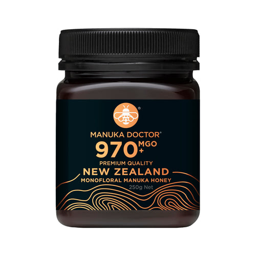 MGO 970+ Monofloral Manuka Honey 250g