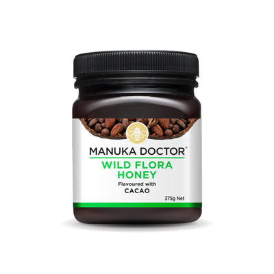 Wild Flora Honey with Cacao 375g