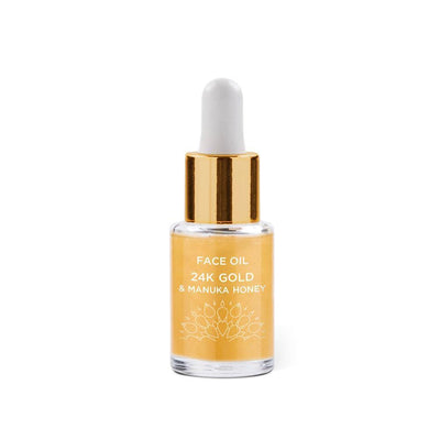 24K Gold & Manuka Honey Face Oil