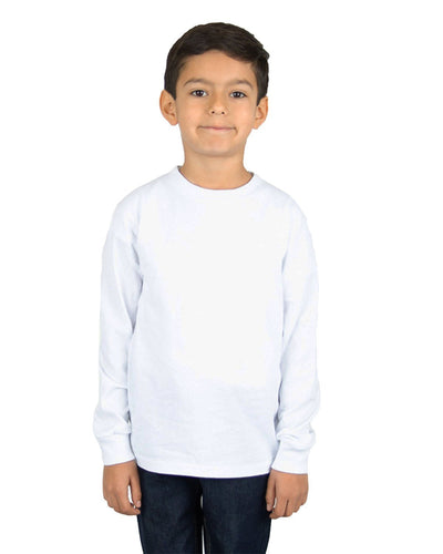 6.0 oz Kids' Crew Long Sleeve
