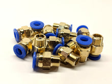 Load image into Gallery viewer, Capricorn 4 Pack PC6-M10*1 Fittings - For 2.85mm Bowden Tubing