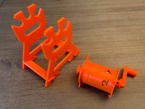 The RepWinder: A spool rewinder solution for RepBox Prusa MMU2 integration and Sample Filament Winding