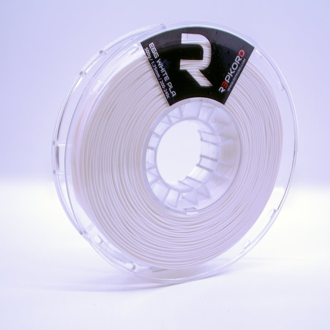Egg White 1.75 PLA 1lb Spool