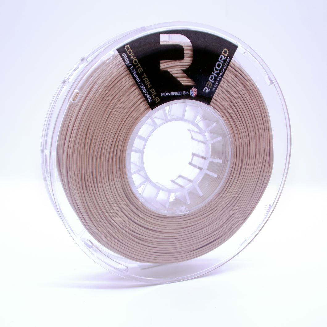 Coyote Tan 1.75 PLA 1lb Spool