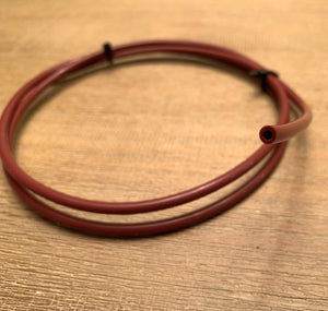 LIMITED EDITION Dark Red Capricorn 1 Meter XS Low Friction 1.75mm Bowden Tubing