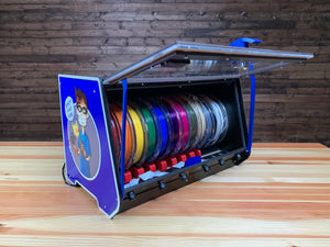 "RepBox 2: ""THE"" 3D Printing Spool Management Solution Build Kit"