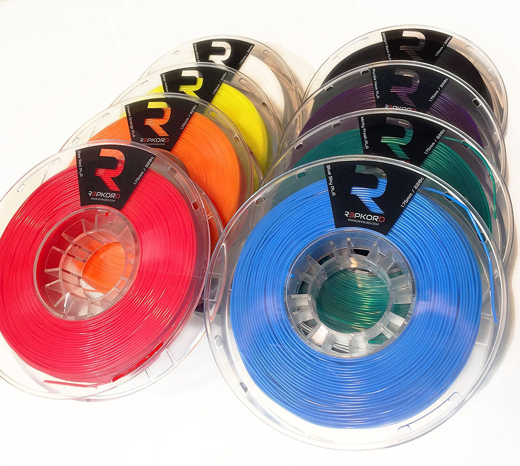 REPKORD MAX Filament PLA 8 Spool RainbowPak 1.75mm