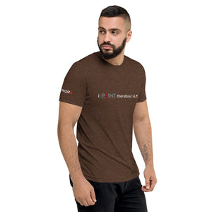 I Print Therefore I A.M. v2 Dark Short sleeve t-shirt