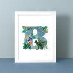 DINO-MITE JUNGLE ART PRINT