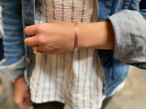 Rose Gold Ivy Bracelet