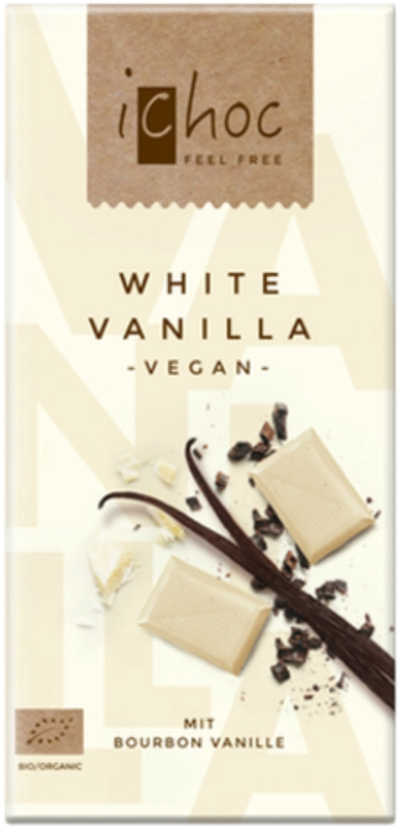 iChoc White Vanilla Chocolate Bar