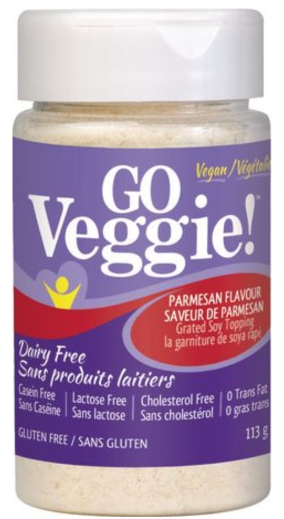Go Veggie Parmesan Grated Topping