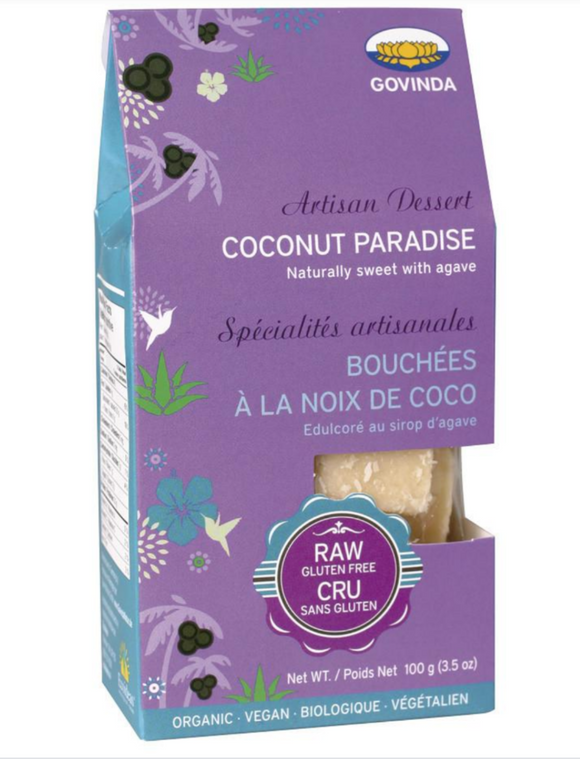 Govinda Coconut Paradise Treats