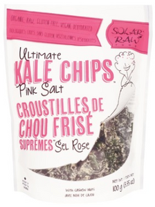 Solar Raw Food Ultimate Kale Chips - Pink Salt 100g