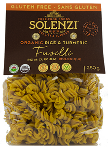 Solenzi Rice and Tumeric Fusilli 250g