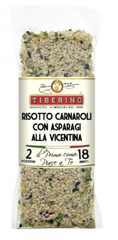 Tiberino One-Pot Gourmet Dishes - Risotto Carnaroli with Asparagus 200g