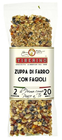 Tiberino One-Pot Gourmet Dishes - Spelt and Lentil Soup 200g