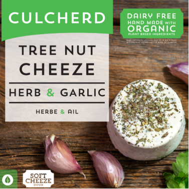 Culcherd Cheeze - Herb and Garlic 115g