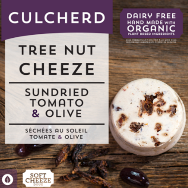 Culcherd Cheeze - Sundried Tomato and Olive 115g