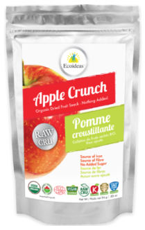 VitaSnack Fruit and Vegetable Crunch - Apple