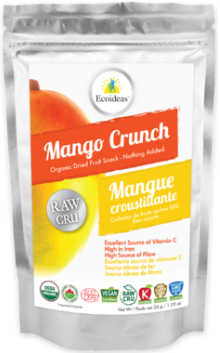 VitaSnack Fruit and Vegetable Crunch - Mango