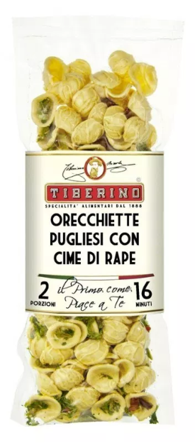 Tiberino One-Pot Gourmet Dishes - Orecchiette with Rapini 200g