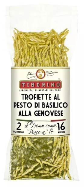 Tiberino One-Pot Gourmet Dishes - Trofiette Pasta with Pesto Genovesei 200g