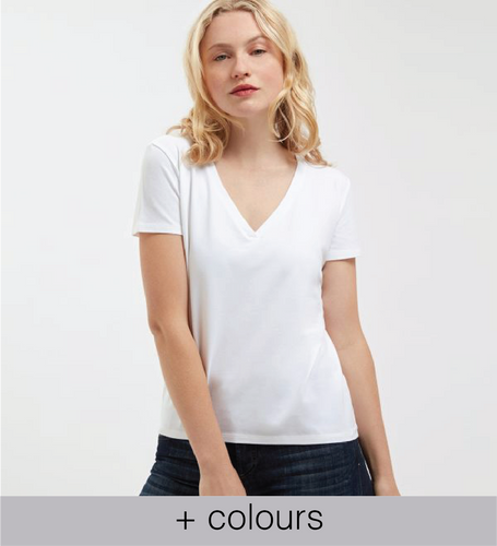 best women's white t shirt brand