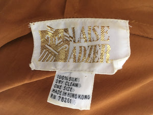 Laise Adzer Turmeric Hooded Dream Cloak