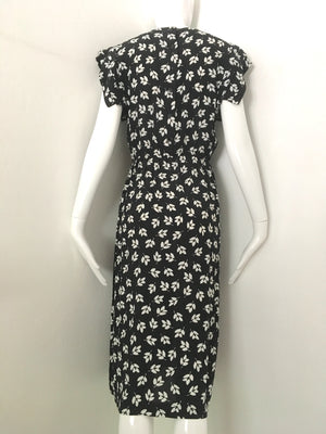 Black and White Sweet & Easy Dress