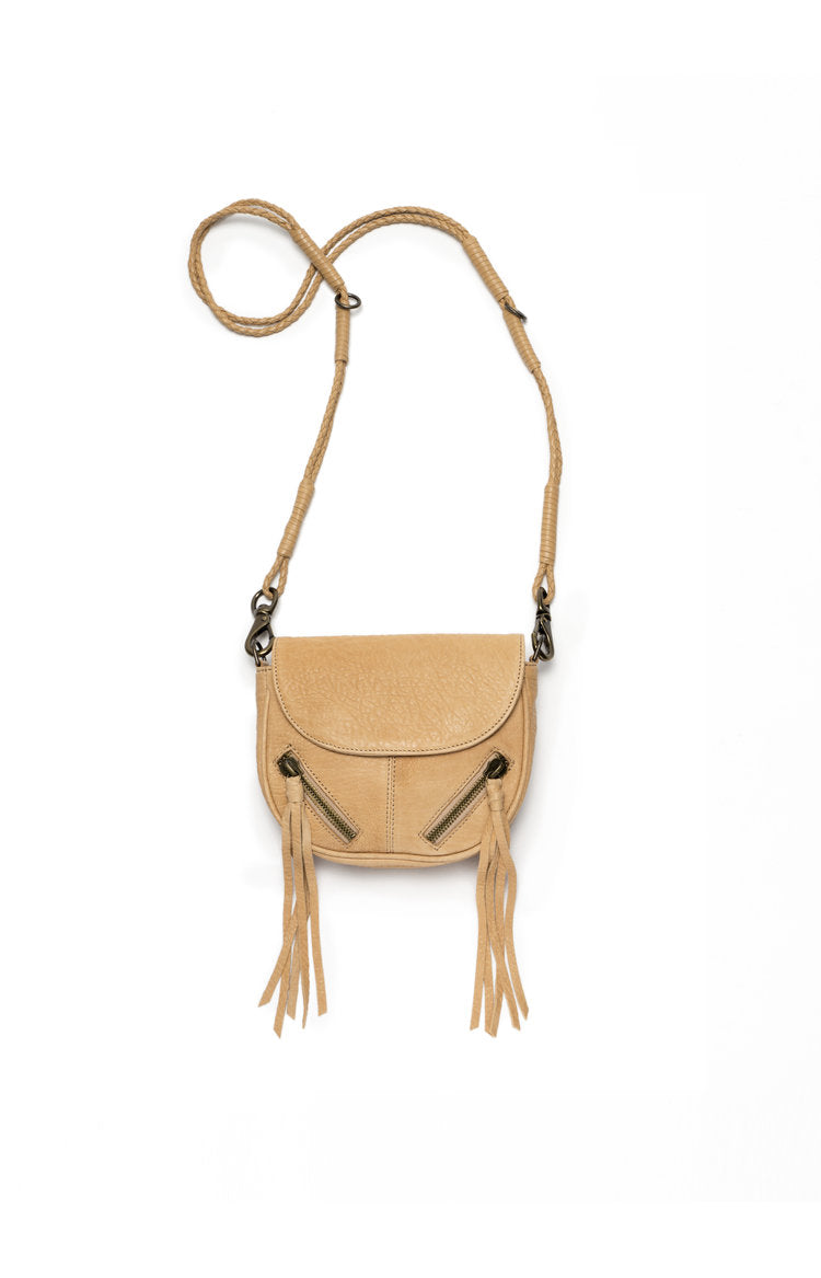Leather Crossbody with Fringe
