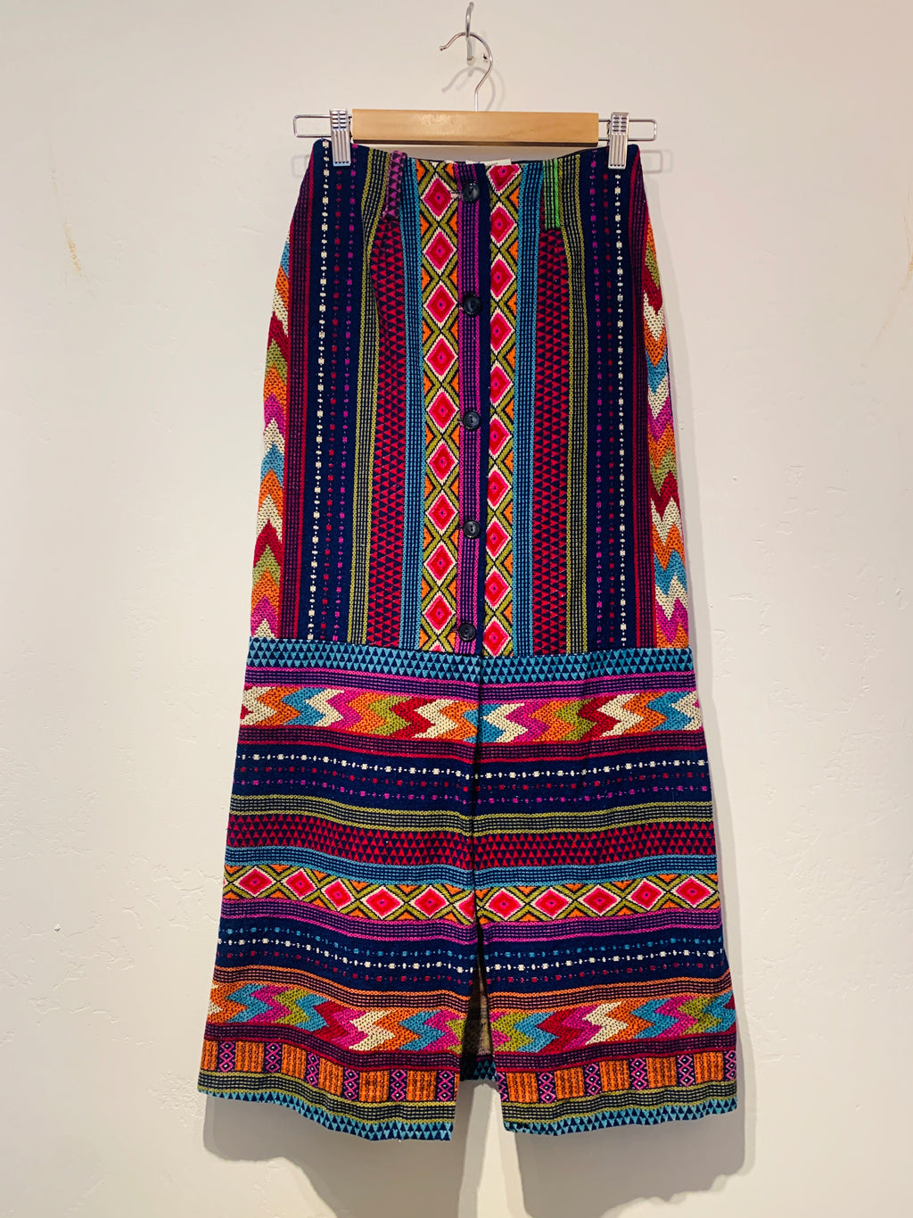 Fun Psychedelic Maxi Skirt