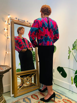 ART-TO-WEAR BOLERO