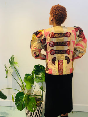 Art Appliqué Jacket