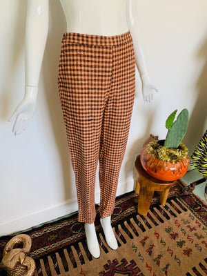 Vintage Italian Checkered Pants