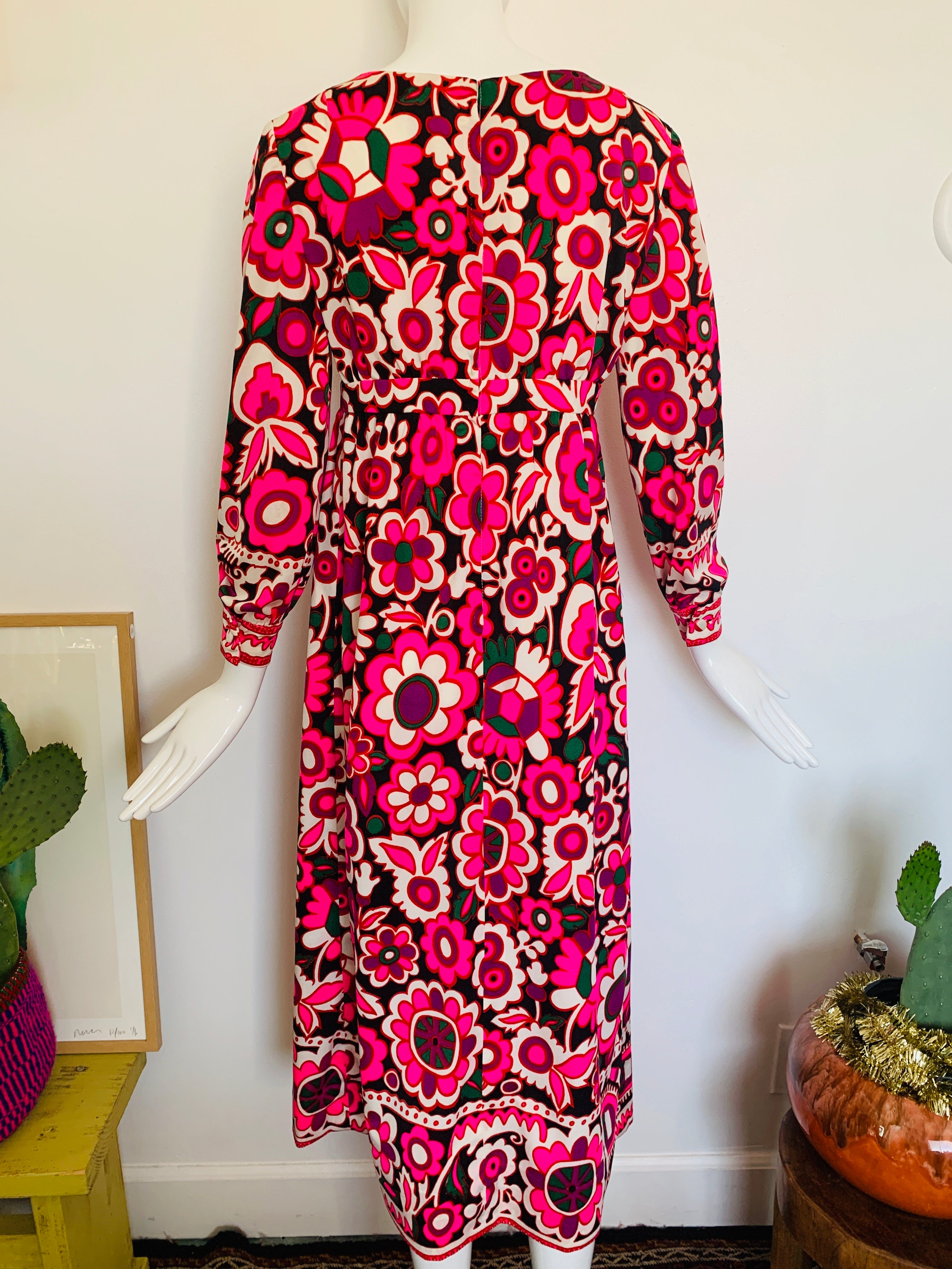 60s Kaleidoscope Gown