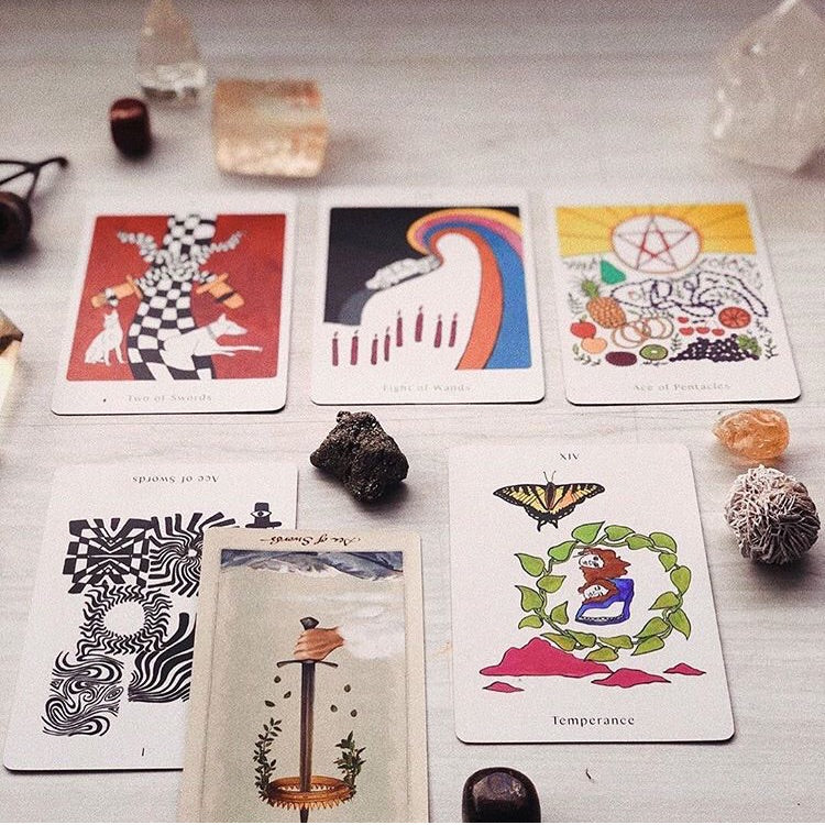 Apparition Tarot Deck