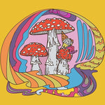 Magic Mushrooms Print