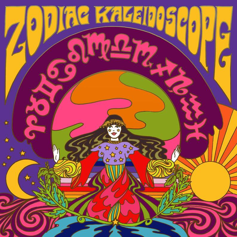 Zodiac Kaleidoscope Astrology Book