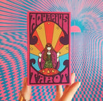 Aquarius Tarot * Psychedelic Hand Drawn Deck