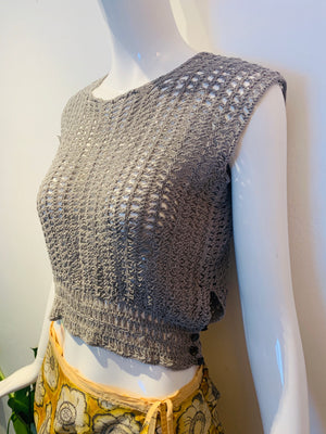 Knit Victorian Top